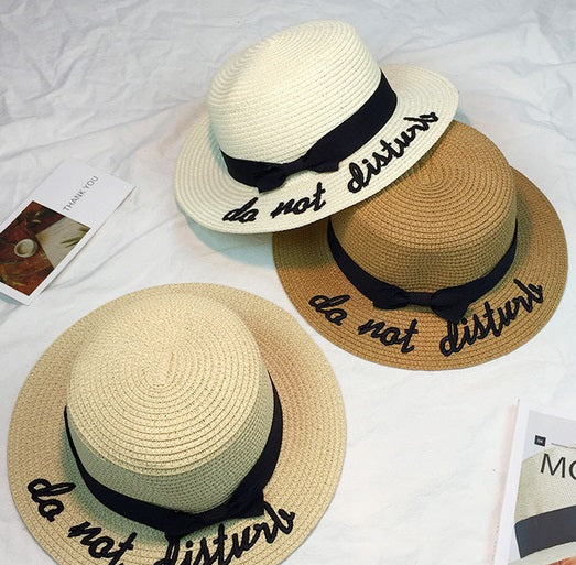 Do Not Disturb Bow Hat (3 Colors)