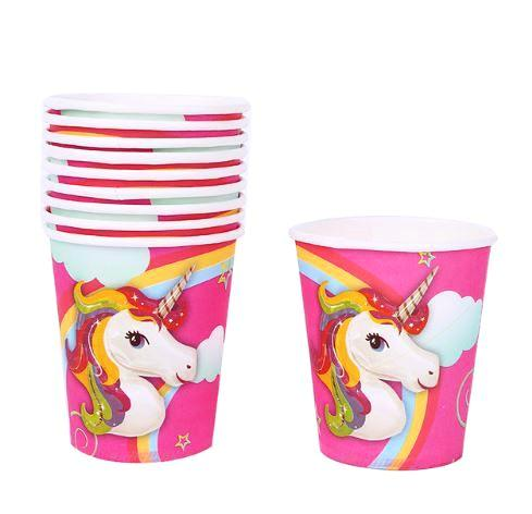 Unicorn Paper Glasses (Pack of 10)