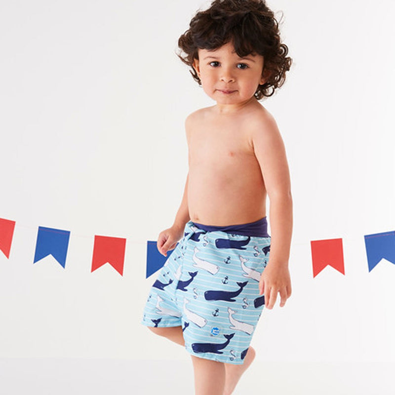 Happy Nappy™ Board Shorts Vintage Moby