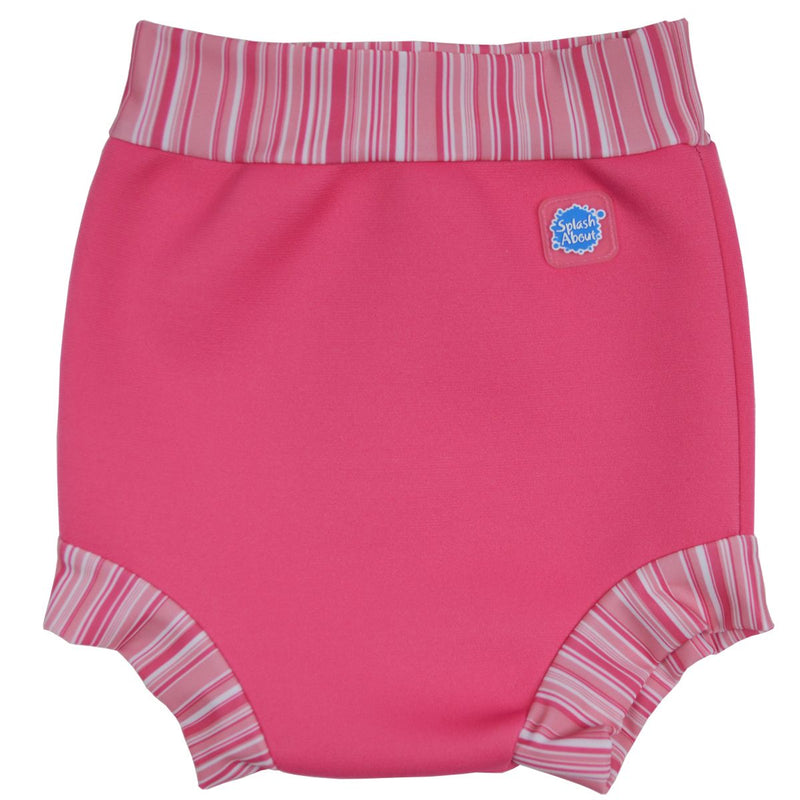 Happy Nappy Pink Candy Stripe