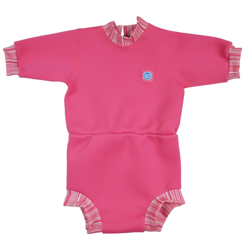 2 in 1 Baby Wetsuit and Diaper Splash About Baby Happy Nappy Wetsuit X Large 12-24 Months, Tutti Frutti