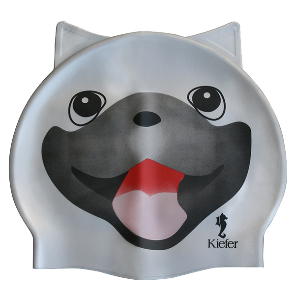 Kiefer Junior Silicone Swim Cap - Doggy