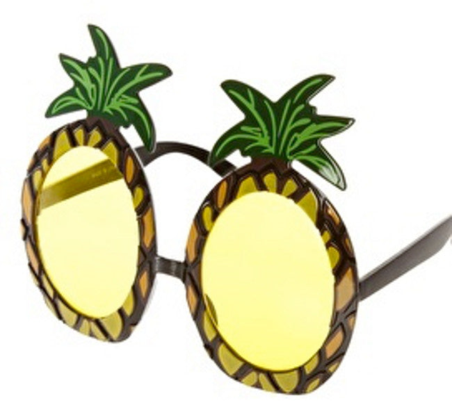Hawaiian Pineapple Sunglasses