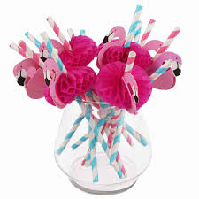 Flamingo Paper Straws (Pack of 25)