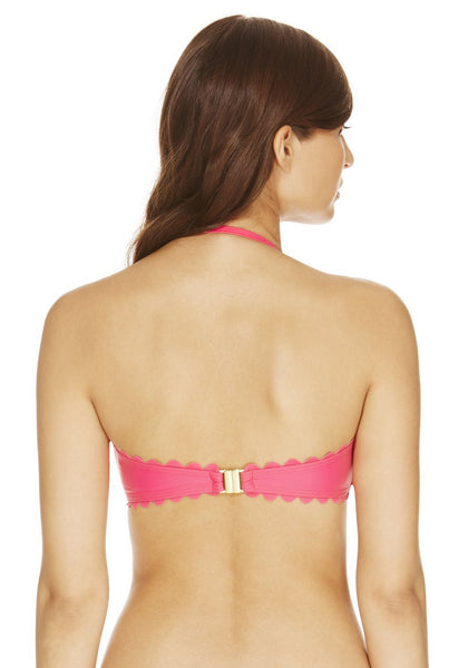 Scallop Edge Bandeau Set (UK 8 Only)