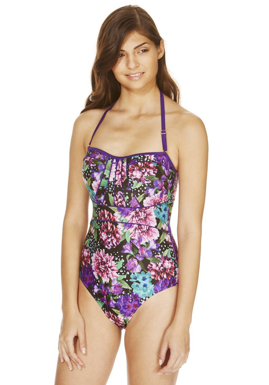 Floral Print Swimsuit (UK14 Only)