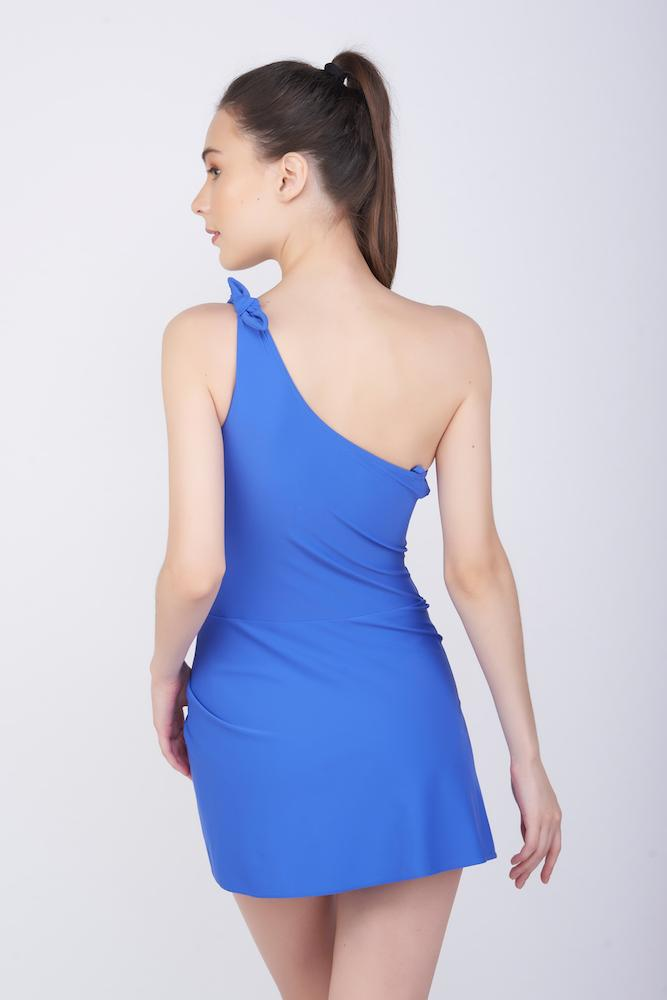 KAI One Shoulder Swim Dress