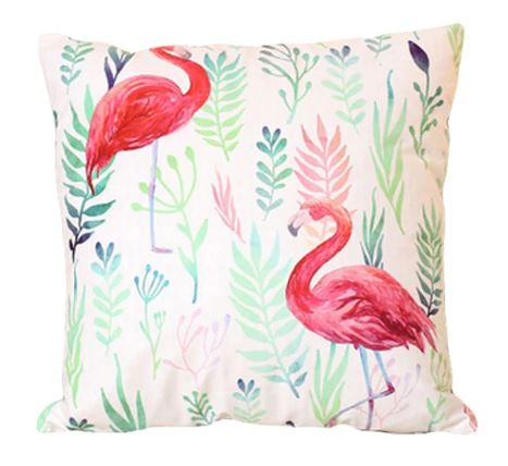 Tropical Flamingo Cushion Covers (3 Options)