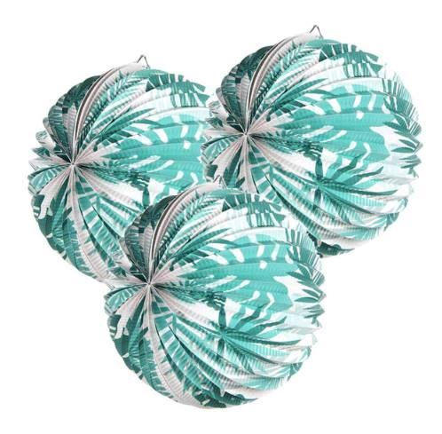 Tropical Paper Lanterns (Set Of 3)