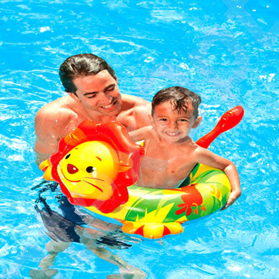 The Beach Company - Shop Pool Floats and Loungers Online - Swimming pool toys - Swimming games - The Beach Company India Online - Shop Swim Floats online - Shop Lion Swim ring online - Baby swim ring online