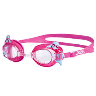 Little Zoggy Pink Goggles