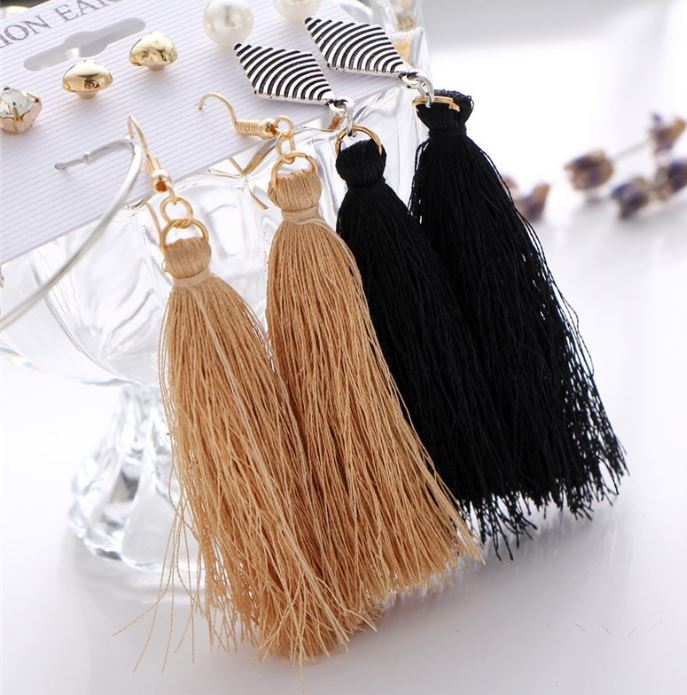 Long & Short Multi Earring Set