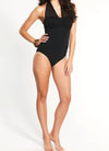 Mesh Halter Swimsuit