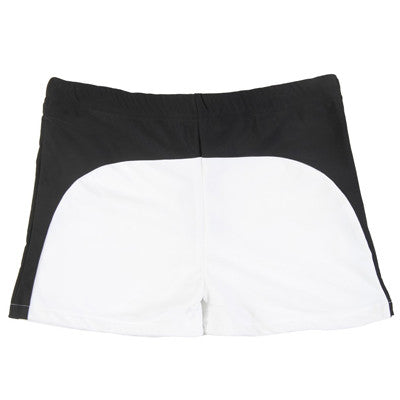 Monochrome Color Block Swim Pant