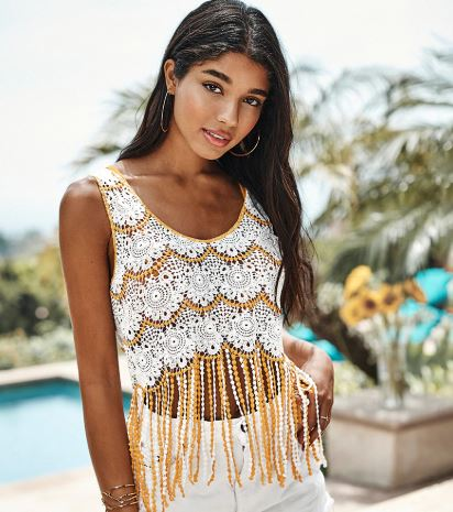 Bohemian Embroidered Beach Dress