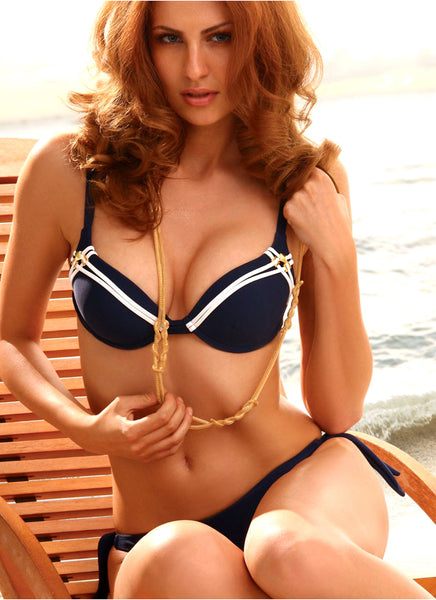 Navy Nautical Bikini Set