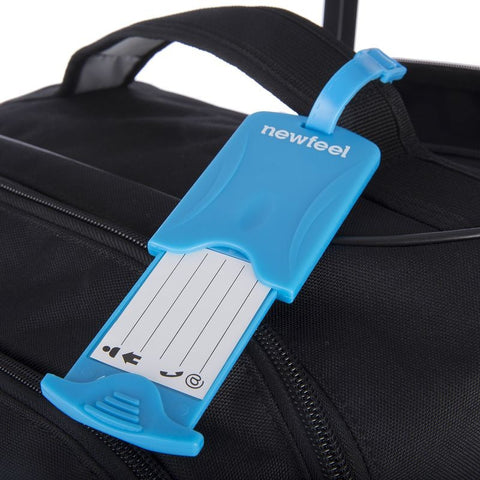 Pack of 2 Luggage Tags - Blue