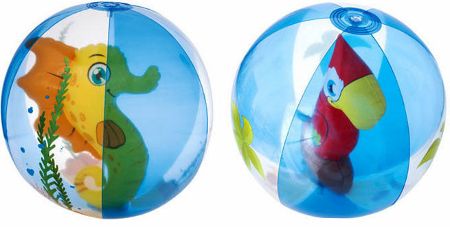 3D Beach Ball (2 Options)