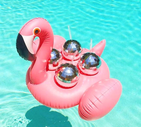 Inflatable Flamingo Drink Holder