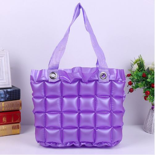 Inflatable Bubble Bag - Purple