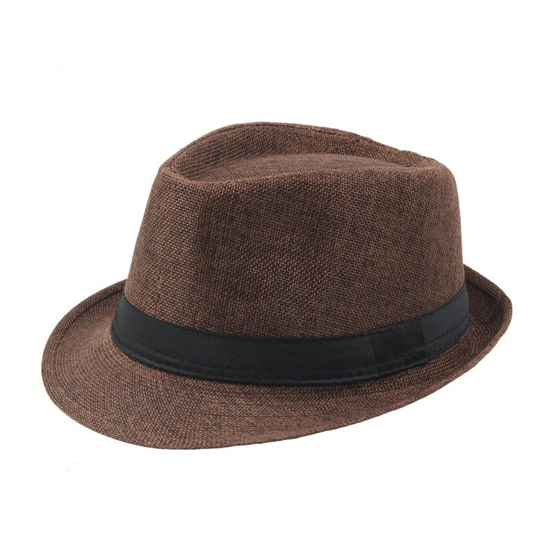Fedora Beach Hat - Coffee