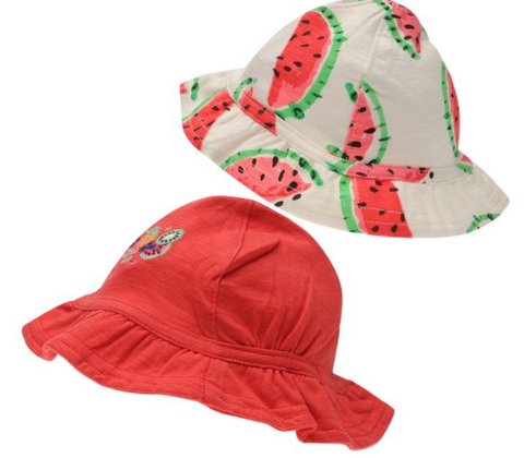 Watermelon Kids Cap (Pack of 2)