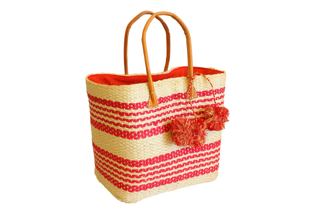 Red Stripes Tote
