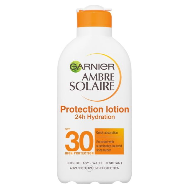 Garnier Ambre Solaire Ultra-hydrating Sun Cream SPF30 200ml