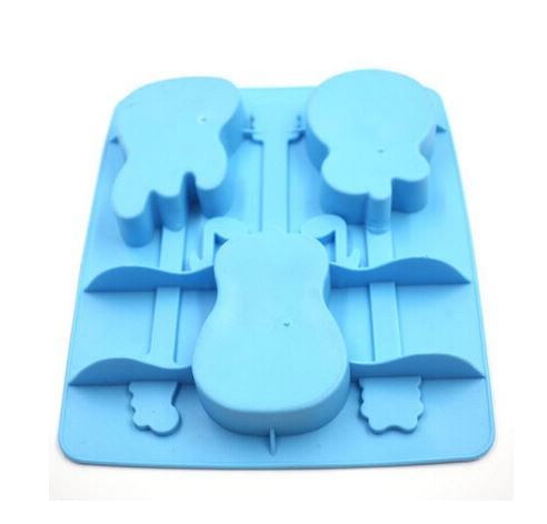 Guitar Shape Ice Tray