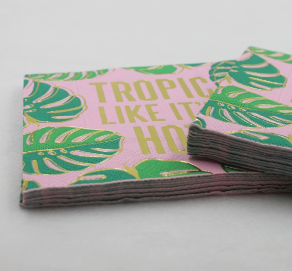 Tropical Paper Napkins (Pack Of 20)