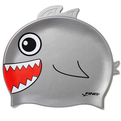 Kids Swim Cap - Shark