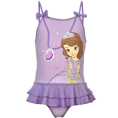 Sophia Princess Swimsuit (Size 2-3 yrs Only)