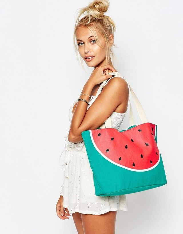 Watermelon Beach Tote