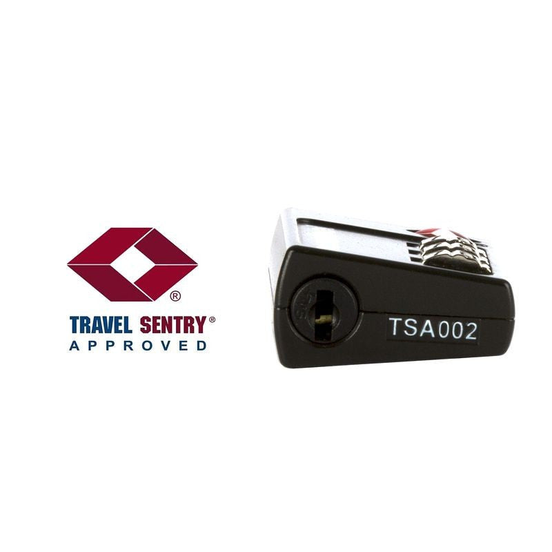 TSA Combination Padlock - Black