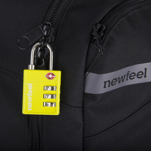 TSA Combination Padlock - Yellow
