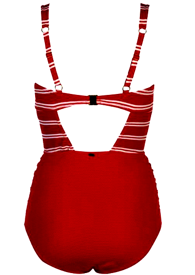 SoulCal Nautical Red Swimsuit (S & M Only)