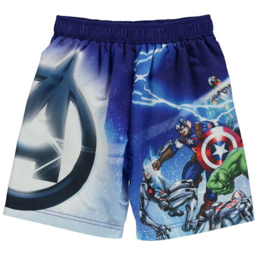 Avengers Board Shorts (2-3yrs Only)