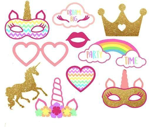 Dazzling Photo Props (Pack of 10)