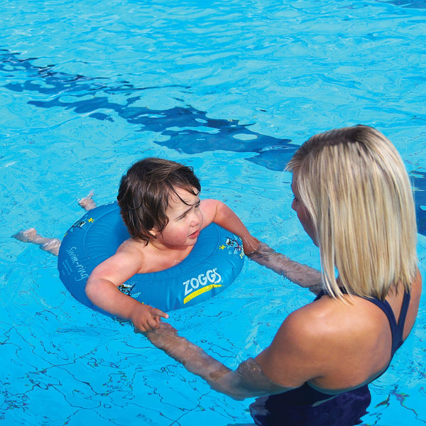 Zoggy Swim Ring-Blue 2-3 years