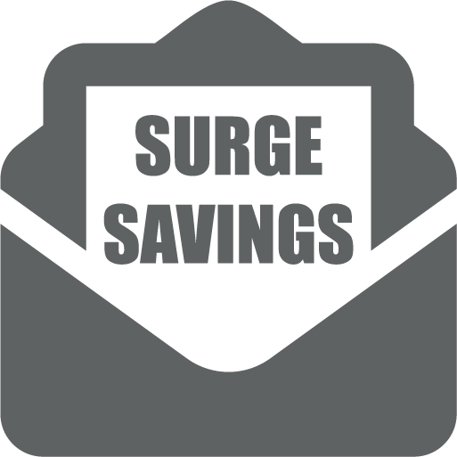 SURGESAVINGS Envelope