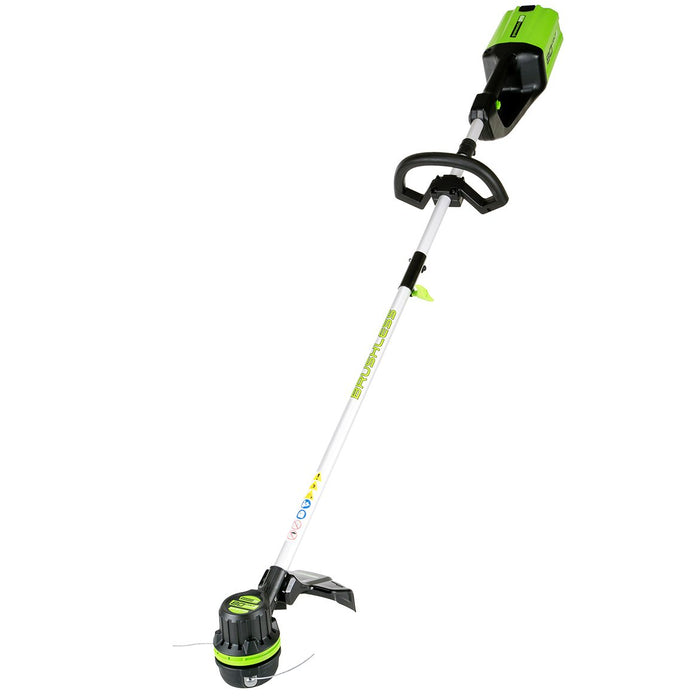 GreenWorks STBA80L210 80-Volt 2.0Ah String Trimmer/Blower Combo - 1301402