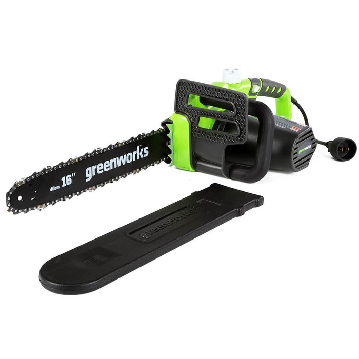 GreenWorks 20232 16-Inch 12-Amp Heavy Duty Variable Speed Electric Chainsaw