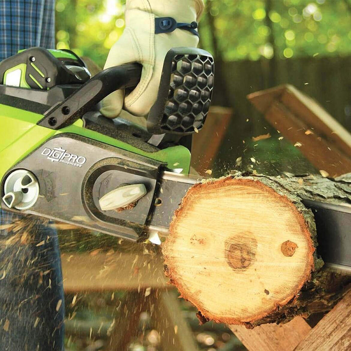 GreenWorks 20322 40-Volt 16-Inch Brushless Digipro Cordless Chainsaw - Bare Tool