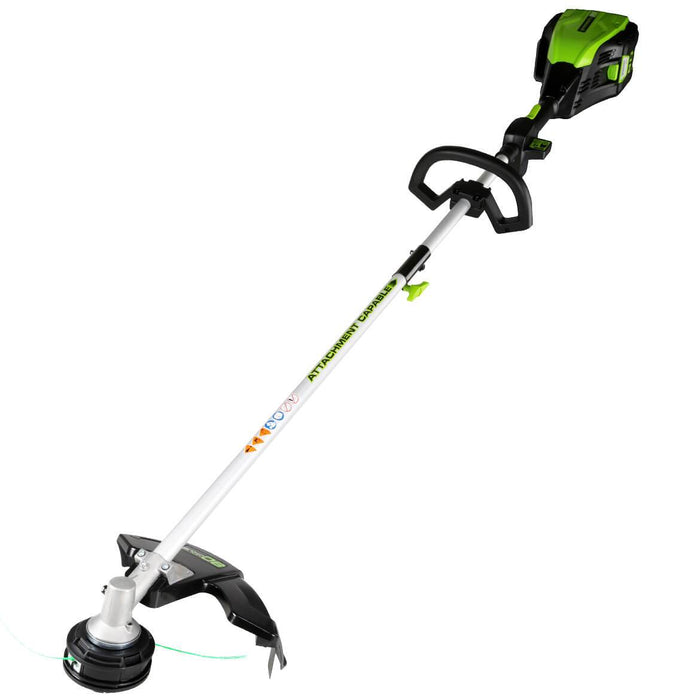 GreenWorks GST80320 80-Volt 16-Inch Cordless String Trimmer - Bare Tool -2101202