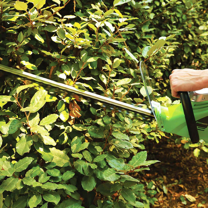 GreenWorks 2200102 22-Inch 4-Amp Dual Action Lightweight Corded Hedge Trimmer