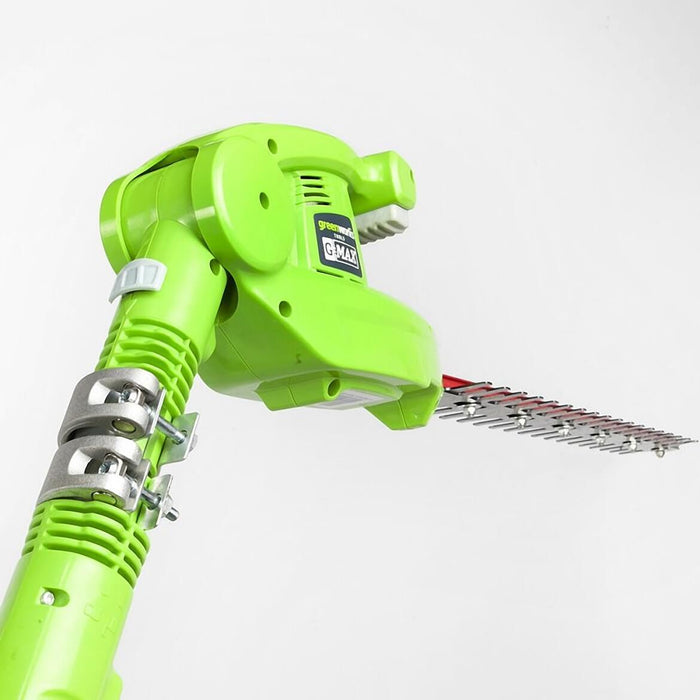 GreenWorks 22272 40-Volt 20-Inch Cordless Pole Hedge Trimmer