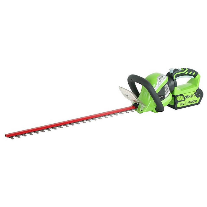 GreenWorks 22332 40-Volt 24-Inch Cordless Rotating Hedge Trimmer - Bare Tool