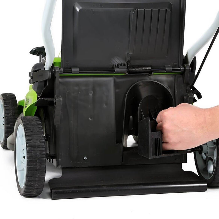 GreenWorks 25322 40-Volt 16-Inch Cordless Lithium-Ion Walk Behind Lawn Mower