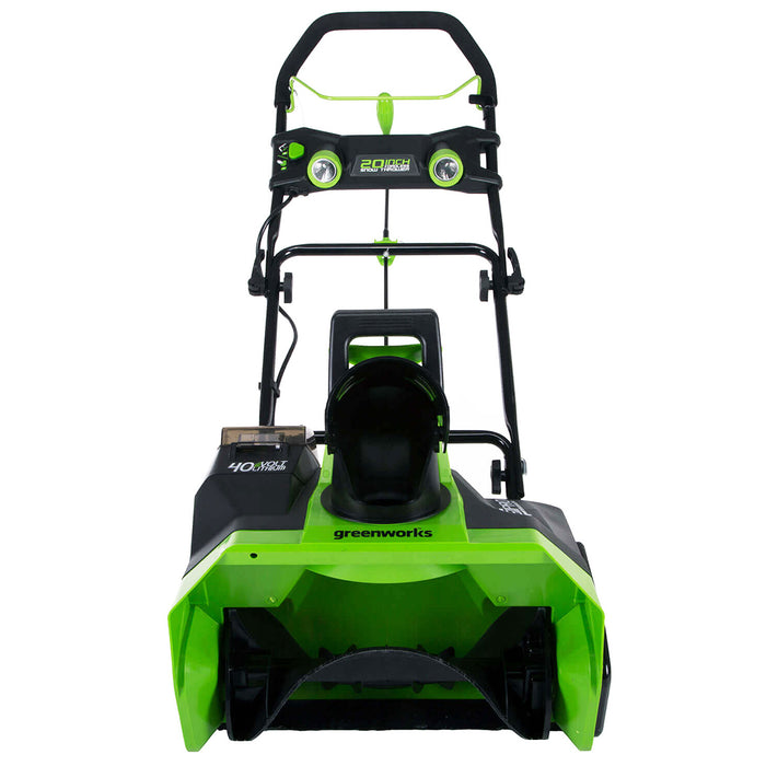 GreenWorks 26272 40-Volt G-MAX 20-Inch 4Ah Heavy Duty Cordless Snow Thrower Kit