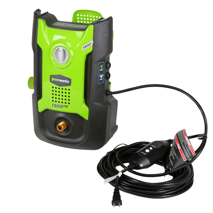 GreenWorks GPW1501 1,500-Psi Vertical Hand Carry Pressure Washer - 5100802